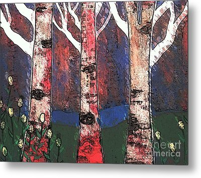 Woodlin Metal Print by Amy Sorrell