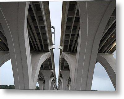 Woodrow Wilson Bridge - Washington Dc - 01132 Metal Print by DC Photographer
