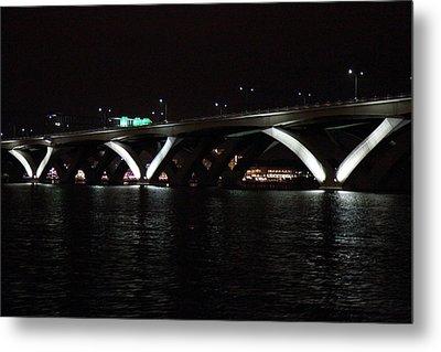 Woodrow Wilson Bridge - Washington Dc - 011338 Metal Print by DC Photographer