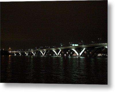 Woodrow Wilson Bridge - Washington Dc - 011339 Metal Print by DC Photographer