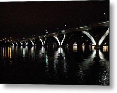 Woodrow Wilson Bridge - Washington Dc - 011355 Metal Print by DC Photographer