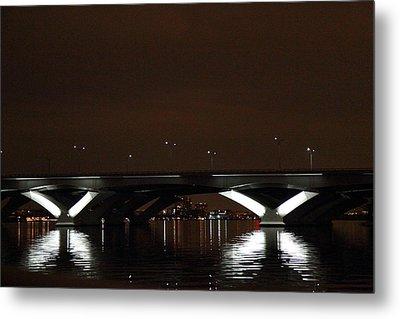 Woodrow Wilson Bridge - Washington Dc - 011364 Metal Print by DC Photographer