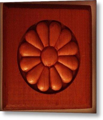 #woodwork #decorative #wood Metal Print