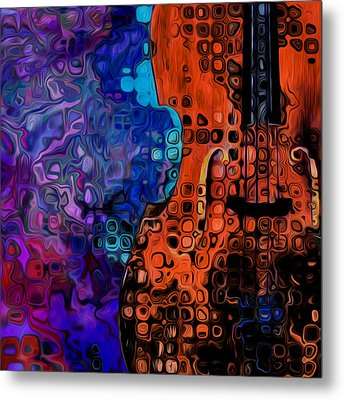 Woody Sound Metal Print by Jack Zulli