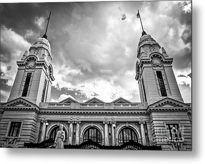 Worcester Union Station Metal Print by Diane Diederich