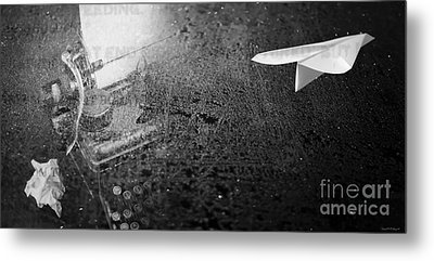 Words Take Flight Metal Print