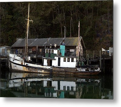 Working Boat Metal Print