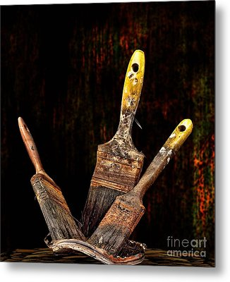 Metal Print featuring the photograph Workout by Shirley Mangini