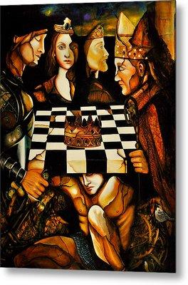 World Chess   Metal Print