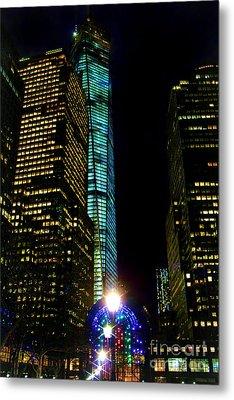 World Financial Center Metal Print by Mariola Bitner