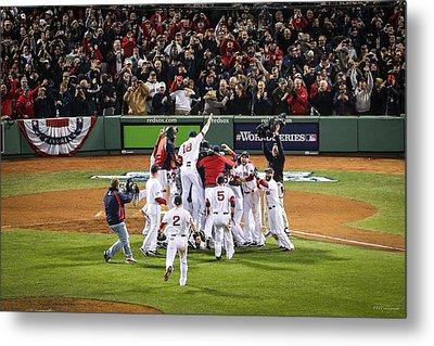 World Series Game Six 5 Metal Print