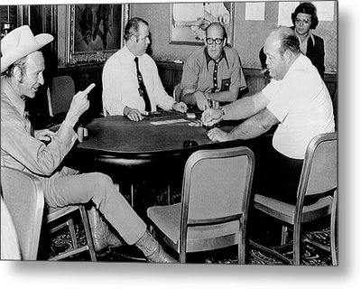 World Series Of Poker Metal Print by Underwood Archives
