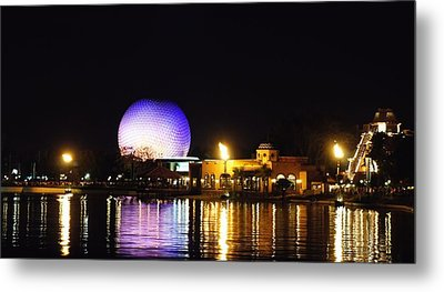 World Showcase 2 Metal Print