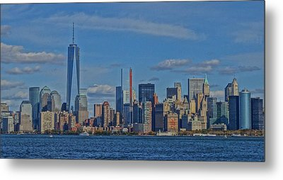 World Trade Center Painting Metal Print by Dan Sproul