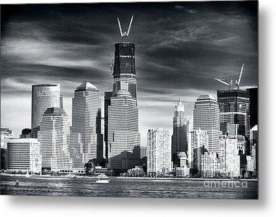 World Trade Center Rebirth Metal Print by John Rizzuto