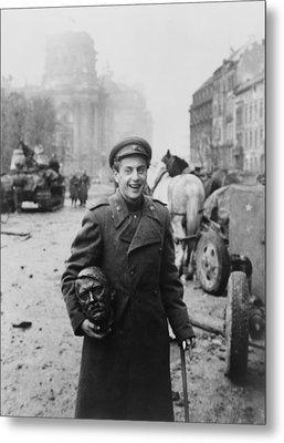 World War 2, Battle Of Berlin, April Metal Print by Everett