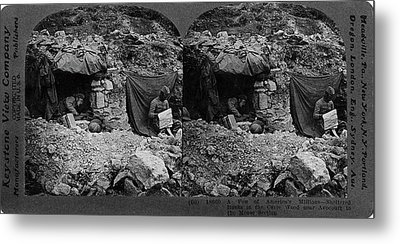World War I Camp, C1917 Metal Print by Granger