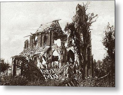 World War I Frise Church Metal Print by Granger