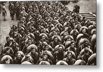 World War I Return Home Metal Print by Granger