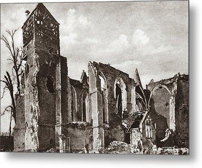 World War I Somme, C1916 Metal Print by Granger