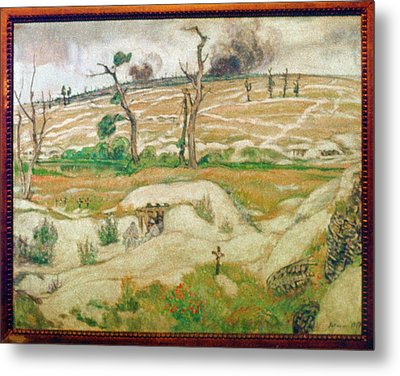 World War I, The Somme Metal Print by Granger