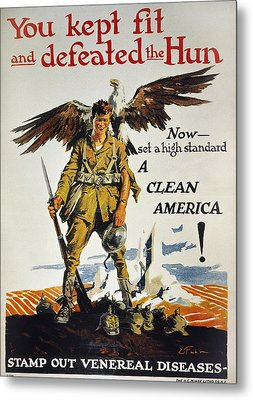 World War I Vd Poster Metal Print by Granger
