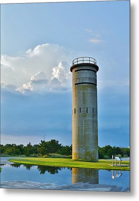 World War II Lookout Tower - Tower Road - Delaware State Park Metal Print