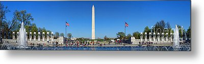 World War II Memorial Metal Print by Olivier Le Queinec