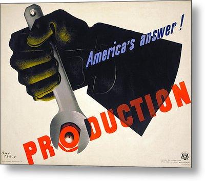World War II Poster, 1941 Metal Print by Granger