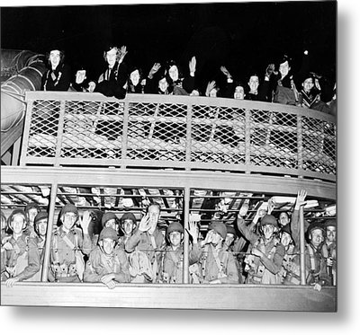 World War II: U.s. Army Metal Print