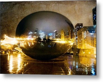 World's Biggest Raindrop Metal Print by Jeanette Brown