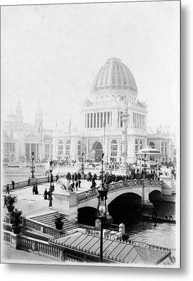 World's Columbian Exposition Chicago Metal Print