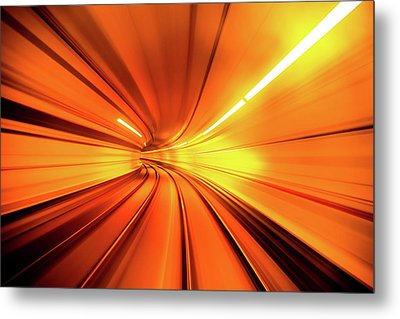 Wormhole Metal Print by Alfred Myers