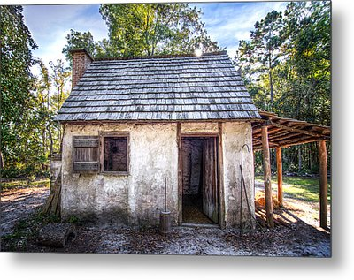 Wormsloe Cabin Metal Print by Mark Andrew Thomas