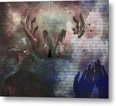 Worship Metal Print by Bruce Rolff