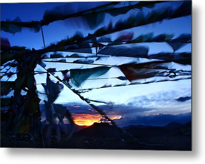 Worship Moment Metal Print by Afrison Ma