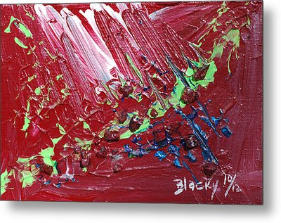 Wounds That Don't Heal Metal Print by Donna Blackhall