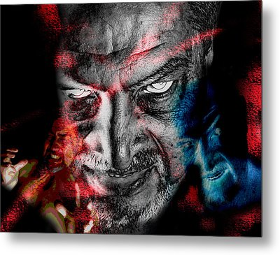 Wrath Metal Print by Camille Lopez