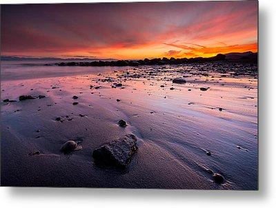 Wreck Beach Sunset Metal Print by Alexis Birkill