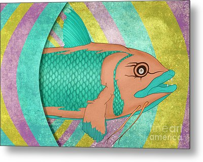 Wreckfish Metal Print by Bruce Stanfield