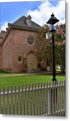 Wren Chapel At William And Mary Metal Print
