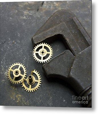 Wrench Metal Print by Bernard Jaubert