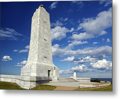 Wright Brothers Memorial D Metal Print
