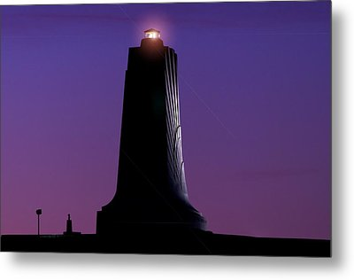 Metal Print featuring the photograph Wright Brothers Memorial by Greg Reed