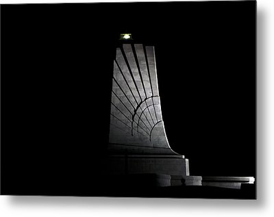 Metal Print featuring the photograph Wright Brothers Memorial II by Greg Reed