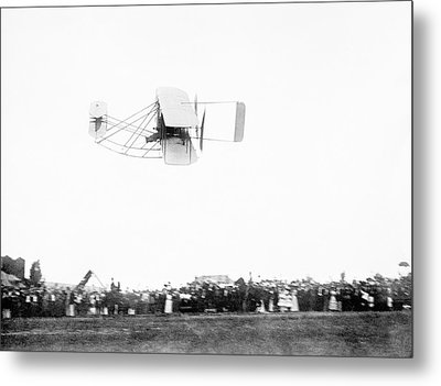 Wright Model A Airplane Metal Print by Library Of Congress