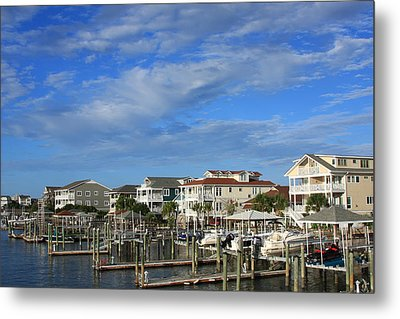 Wrightsville Beach - North Carolina Metal Print by Mountains to the Sea Photo