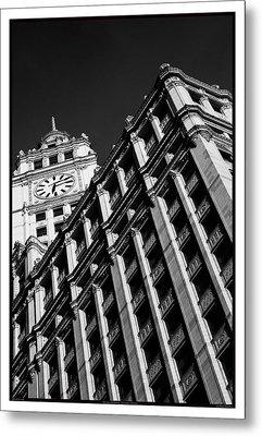 Wrigley Building - 05.16.10_144 Metal Print by Paul Hasara