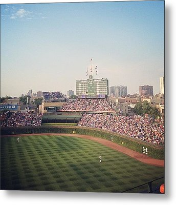 Wrigley Metal Print by Mike Maher