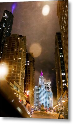 Wrigley On The Way Metal Print by Jeanette Brown